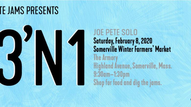 announce Joe Pete solo gig Saturday, February 8, 2020