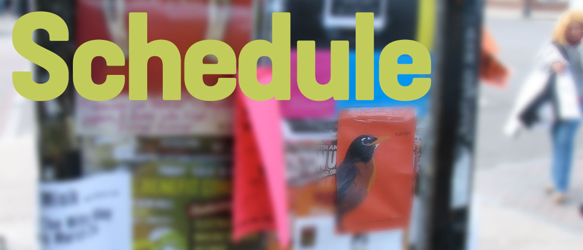 Permalink to:Schedule
